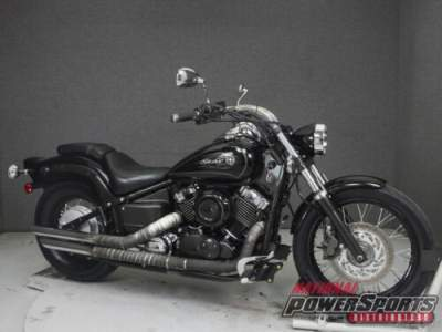 2010 Yamaha V Star XVS650 650 CUSTOM Black for sale craigslist