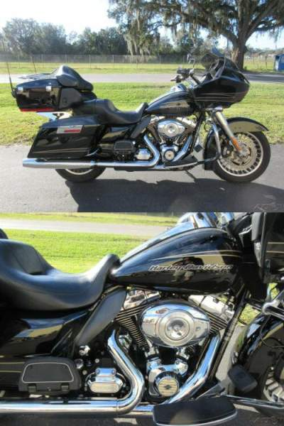 2011 Harley-Davidson Touring Road Glide Ultra Black for sale craigslist