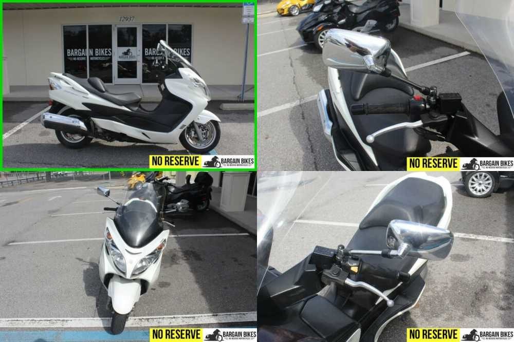 2011 Suzuki Burgman 400 ABS White for sale