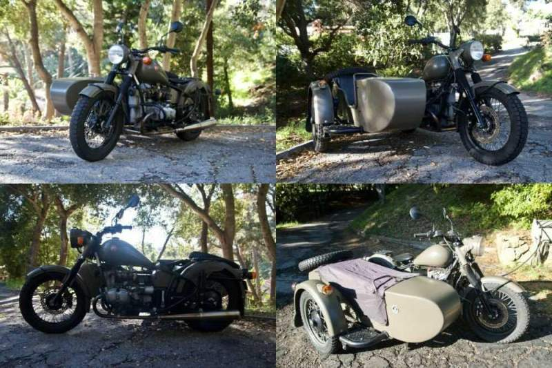 2011 Ural M70 Green for sale