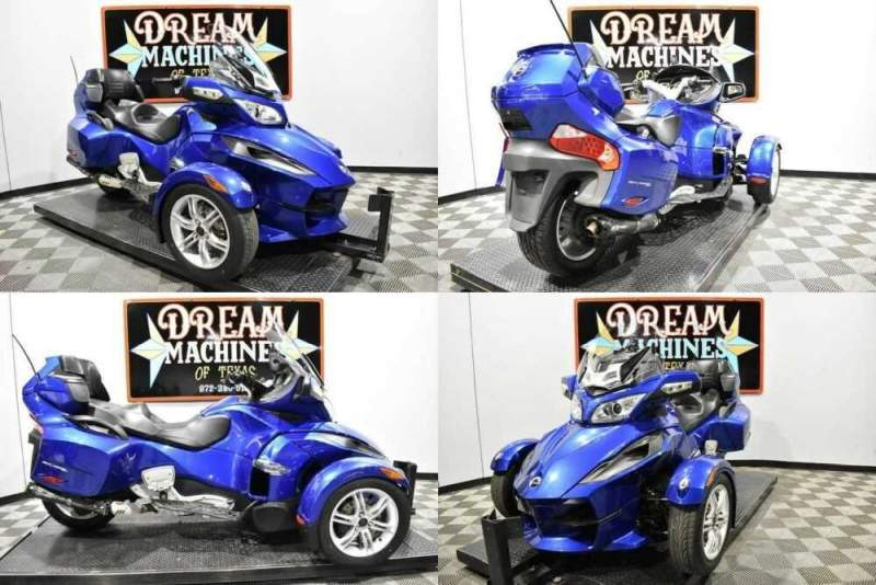 2012 Can-Am Spyder RT SM5 Blue for sale craigslist