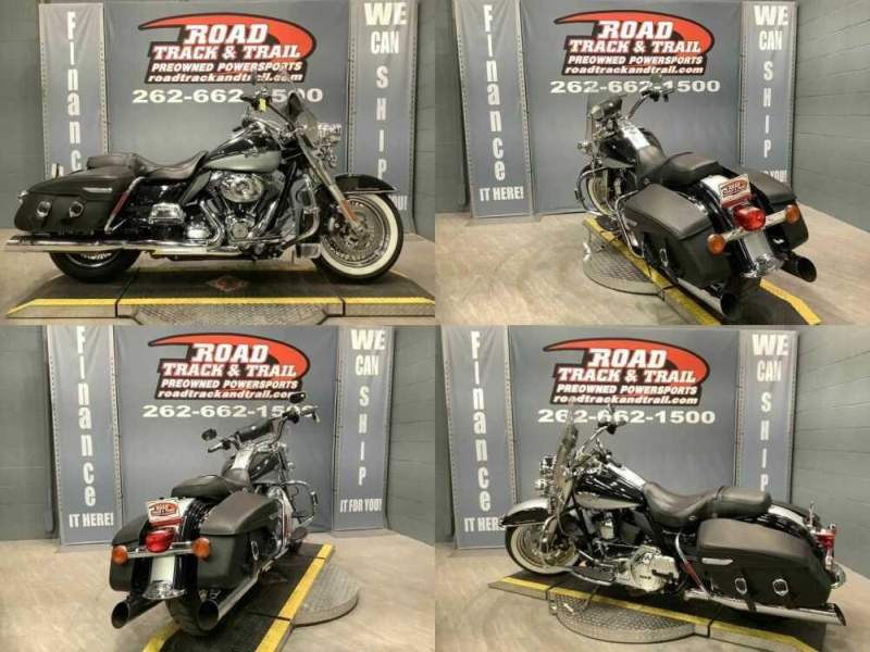 2012 Harley-Davidson FLHRC - Road King® Classic Black for sale