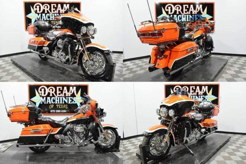 2012 Harley-Davidson FLHTCUSE7 - Screamin Eagle Ultra Classic CVO Orange for sale craigslist