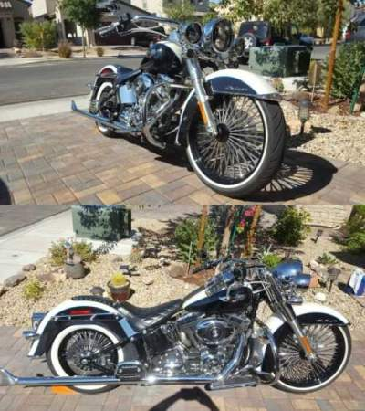 2012 Harley-Davidson Softail Deluxe Black for sale craigslist