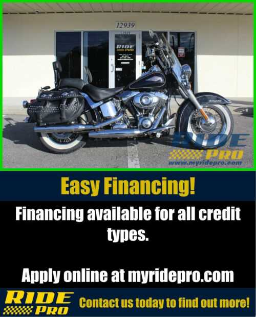 2012 Harley-Davidson Softail Heritage Softail® Classic Black for sale craigslist