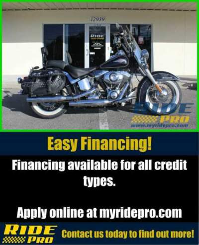 2012 Harley-Davidson Softail Heritage Softail® Classic Black for sale