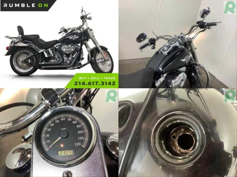2012 Harley-Davidson Softail CALL (877) 8-RUMBLE Black for sale