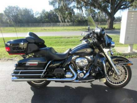 2012 Harley-Davidson Touring Electra Glide® Ultra Classic® Black for sale