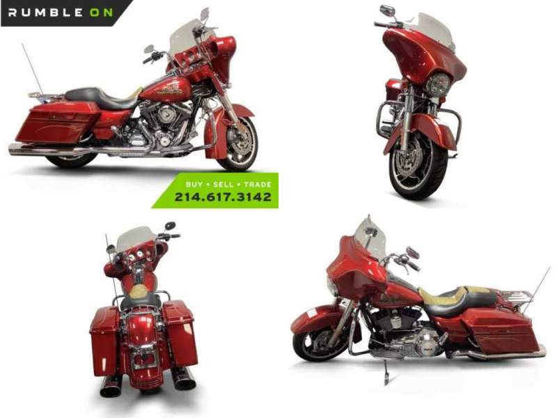 2012 Harley-Davidson Touring CALL (877) 8-RUMBLE Red for sale