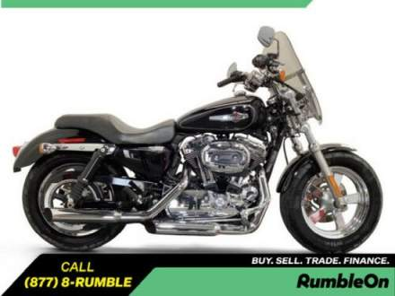 2012 Harley-Davidson XL1200C CALL (877) 8-RUMBLE Black for sale craigslist