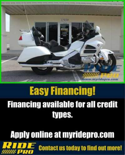 2012 Honda Gold Wing Audio / Comfort White for sale