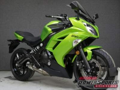 2012 Kawasaki EX650 NINJA 650 Green for sale