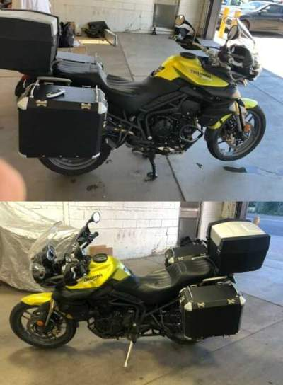 2012 Triumph Tiger for sale craigslist