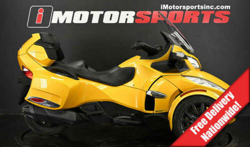 2013 Can-Am Spyder RT-S SE5 Yellow for sale