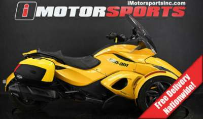 2013 Can-Am Spyder ST-S SE5 Yellow for sale