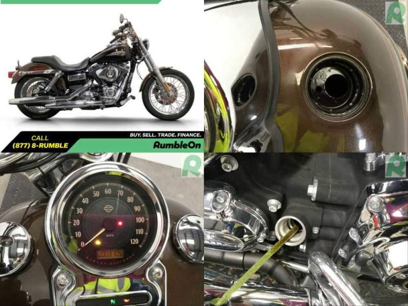 2013 Harley-Davidson Dyna CALL (877) 8-RUMB Brown for sale