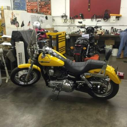 2013 Harley-Davidson Dyna Chrome Yellow Pearl for sale craigslist