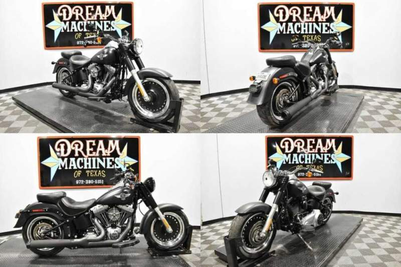 2013 Harley-Davidson FLSTFB - Softail Fat Boy Lo Black for sale craigslist