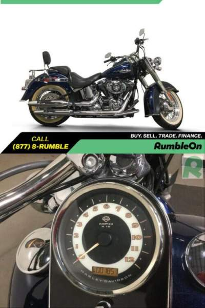 2013 Harley-Davidson Softail CALL (877) 8-RUMBLE Blue for sale craigslist