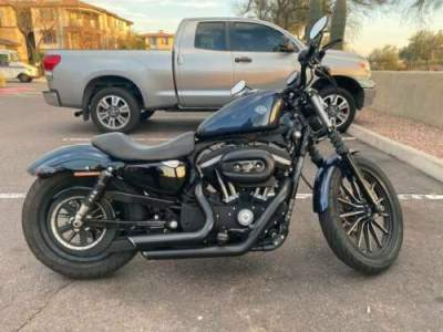 2013 Harley-Davidson Sportster Blue for sale craigslist
