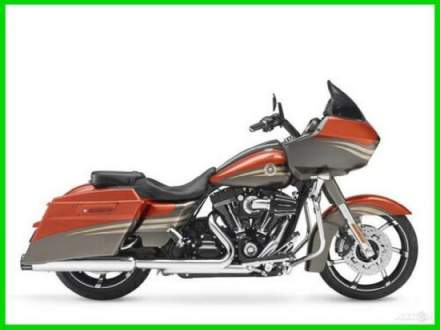 2013 Harley-Davidson Touring CVO Road Glide Custom Atomic Orange / Galaxy Grey with Edge Graphics for sale craigslist