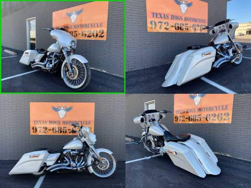 2013 Harley-Davidson Touring Electra Glide® Ultra Classic® STREET GLIDE White for sale