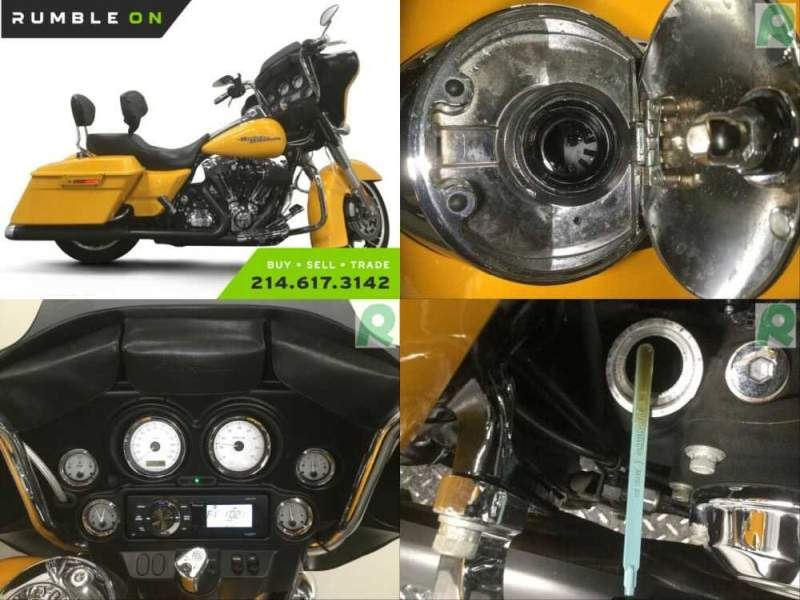 2013 Harley-Davidson Touring CALL (877) 8-RUMBLE Yellow for sale