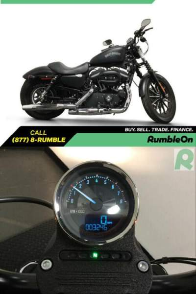 2013 Harley-Davidson XL883N IRON CALL (877) 8-RUMBLE Black for sale