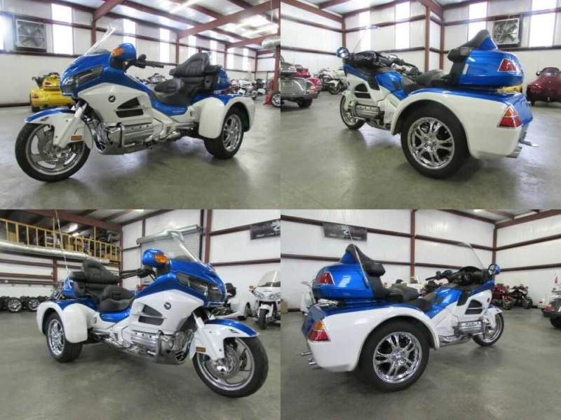 2013 Honda Gold Wing BLUE AND WHITE for sale craigslist