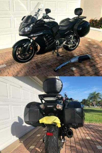 2013 Kawasaki Concours14 ABS Black for sale craigslist