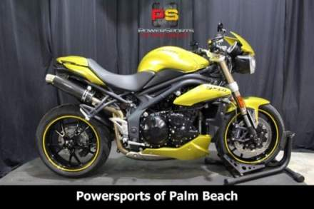 2013 Triumph Speed Triple Yellow for sale craigslist