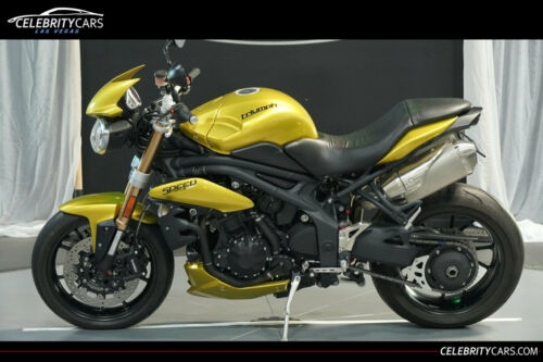 2013 Triumph Speed Triple Sulphur Yellow Yellow for sale craigslist