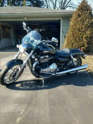 2013 Triumph Thunderbird ABS Black for sale craigslist