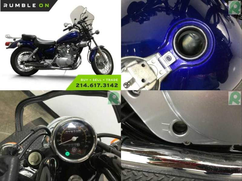 2013 Yamaha XV250D/C V-STAR CALL (877) 8-RUMBLE Blue for sale craigslist