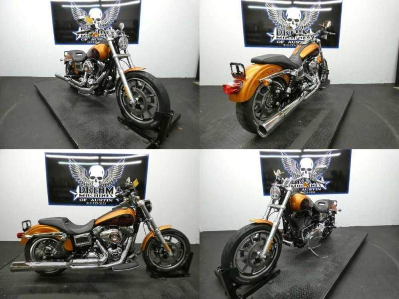 2014 Harley-Davidson Dyna Amber Whiskey for sale
