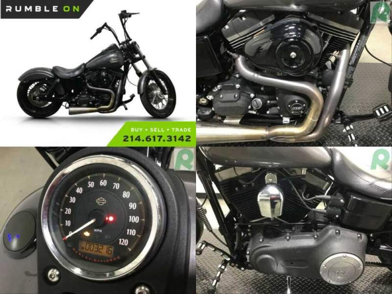 2014 Harley-Davidson Dyna CALL (877) 8-RUMBLE Gray for sale craigslist