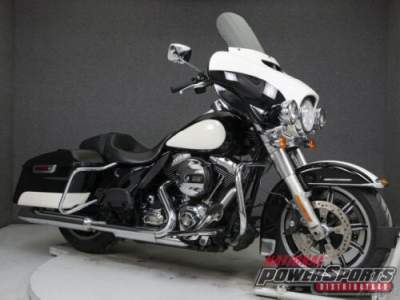 2014 Harley-Davidson FLHTP ELECTRA GLIDE POLICE W/ABS BIRCH WHITE/VIVID BLACK for sale