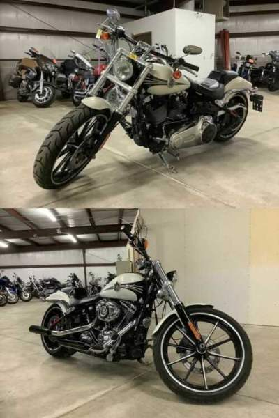 2014 Harley-Davidson FXSB - Softail® Breakout® White for sale