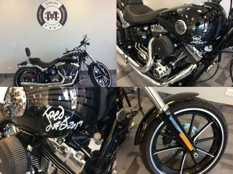 2014 Harley-Davidson FXSB BREAKOUT Black for sale craigslist