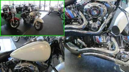 2014 Harley-Davidson Softail FLSTC HERITAGE CLASSIC White for sale craigslist