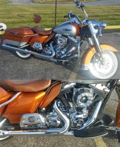 2014 Harley-Davidson Touring Amber Whiskey/ Silver for sale craigslist