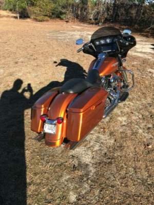 2014 Harley-Davidson Touring Amber Whiskey for sale