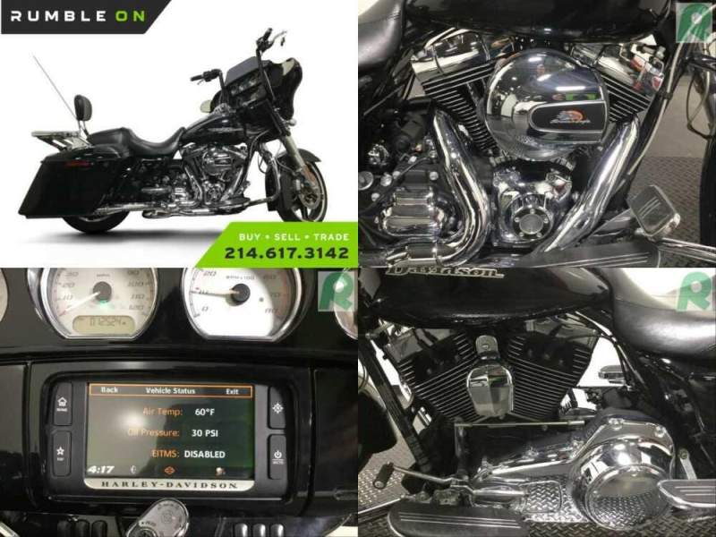 2014 Harley-Davidson Touring CALL (877) 8-RUMBLE Black for sale