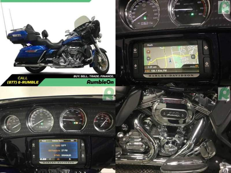 2014 Harley-Davidson Touring CALL (877) 8-RUMBLE Blue for sale craigslist