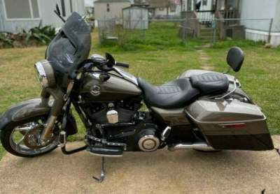 2014 Harley-Davidson Touring CVO ROAD KING FLHRSE Brown for sale