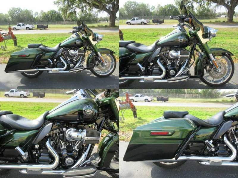 2014 Harley-Davidson Touring Road King® CVO™ Green for sale craigslist