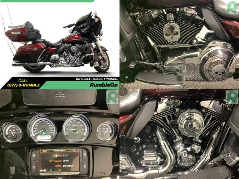 2014 Harley-Davidson Touring CALL (877) 8-RUMBLE Maroon for sale