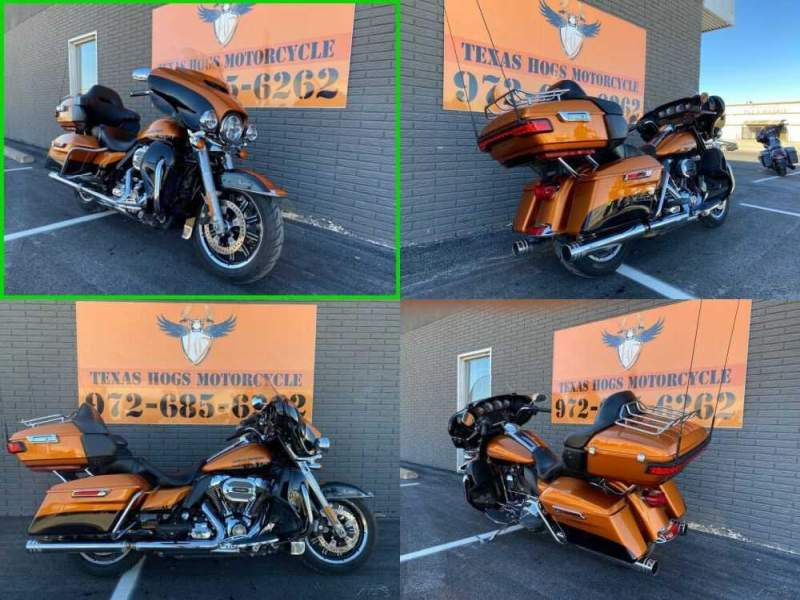 2014 Harley-Davidson Touring Electra Glide® Ultra Limited Orange for sale craigslist