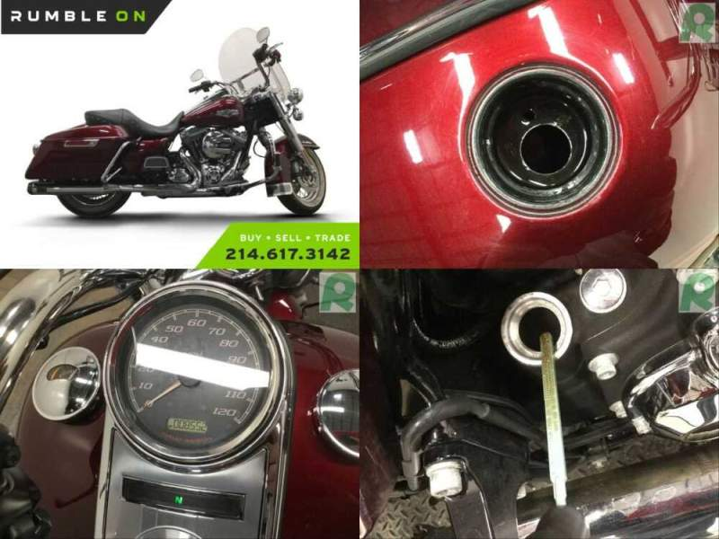 2014 Harley-Davidson Touring CALL (877) 8-RUMBLE Red for sale craigslist