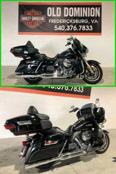 2014 Harley-Davidson Touring Electra Glide Ultra Classic Vivid Black for sale